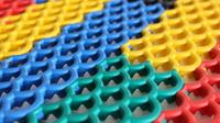 Модульное антискользящее покрытие Профи Люкс Аква синий