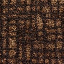 Грязезащитный ковер Валентино 90*150 см. коричневый