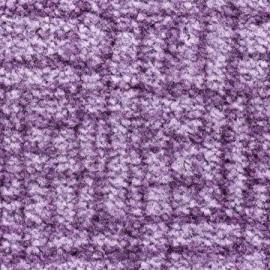 Грязезащитный ковер Валентино 90*150 см. фиолетовый