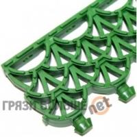Модульное антискользящее покрытие Антикаблук Профи Люкс зеленый 10 мм.