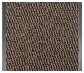 Грязезащитное рулонное покрытие Лейла 90 см. коричневый