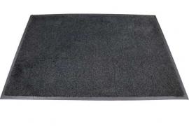 Грязезащитный влаговпитывающий ковер Профи Люкс 190*400 см. антрацит
