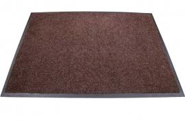 Грязезащитный влаговпитывающий ковер Профи Люкс 115*400 см. коричневый