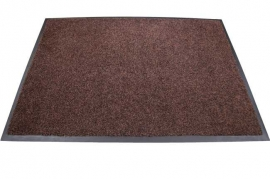 Грязезащитный влаговпитывающий ковер Профи Люкс 150*240 см. коричневый