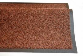 Грязезащитный влаговпитывающий ковер Профи Люкс 60*85 см. коричневый