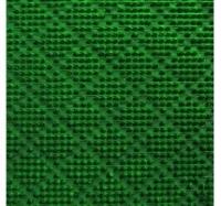 Рулонное покрытие Травка ромб зеленый